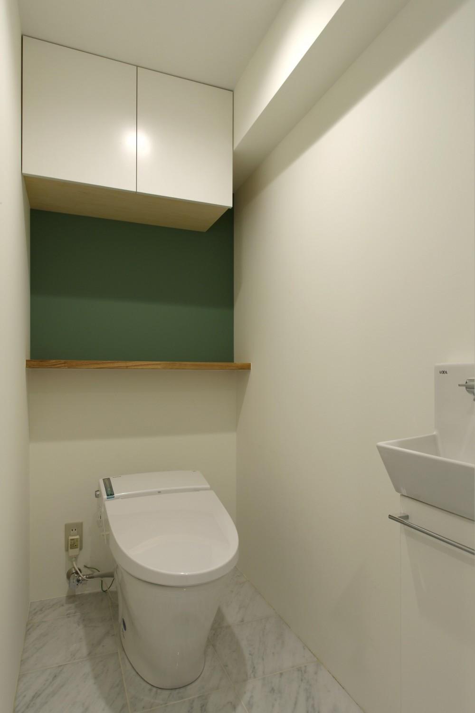 ヴィンテージマンション×リノベーションで理想の住まいを実現 (トイレ)