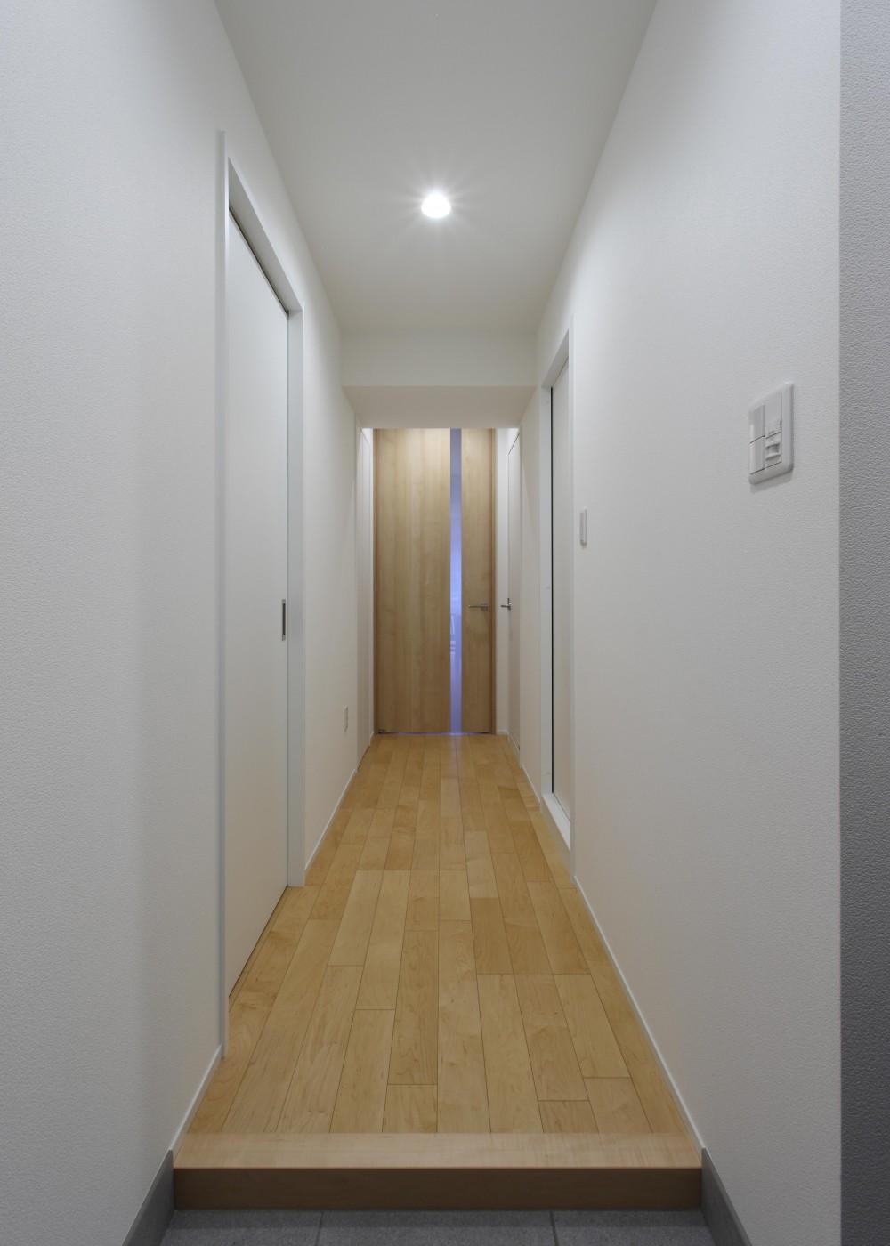 友人を招きたくなる家 (廊下)