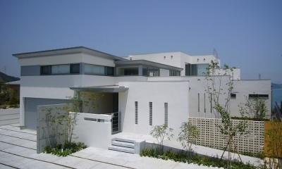 SEE SEA HOUSE  (海が見える家) (外観)