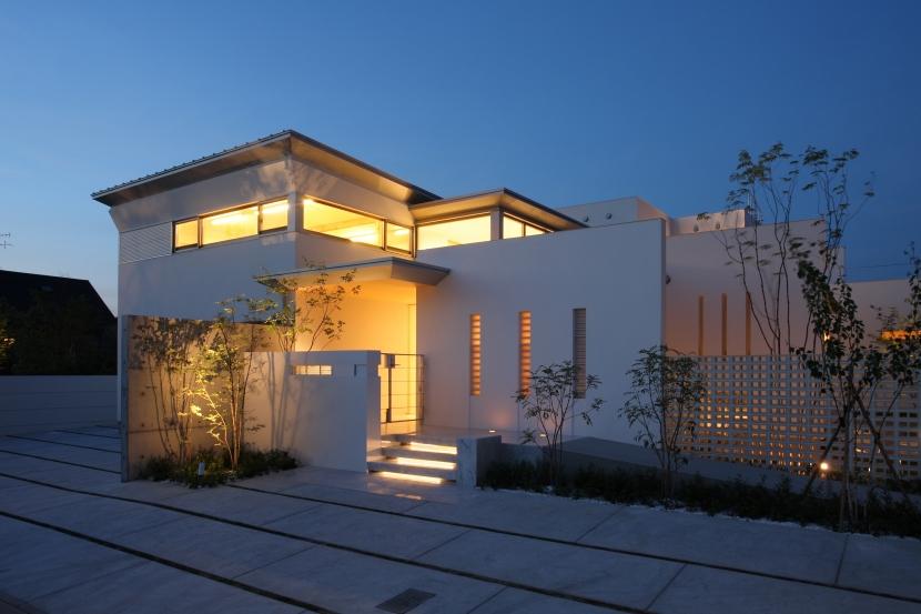 SEE SEA HOUSE  (海が見える家)の部屋 夜景