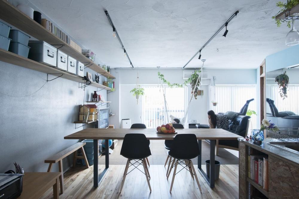 ボタニカルキッチンな家 (静的な空間)