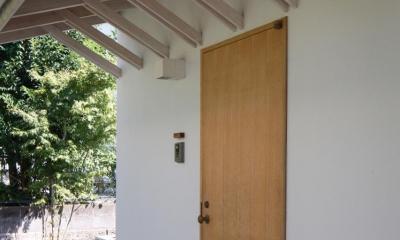 鎌倉の分居 (玄関)