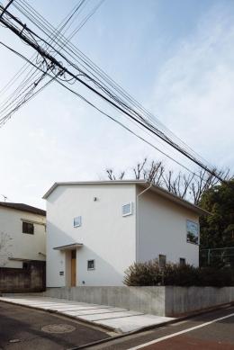 汐見坂の家 (外観)