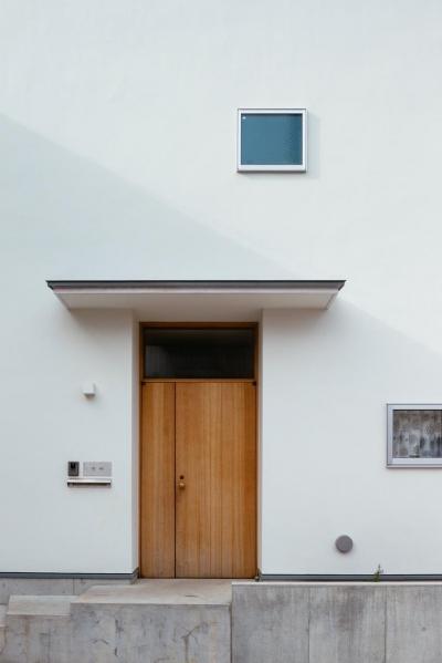 汐見坂の家 (玄関)