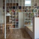 汐見坂の家の写真 約1500冊を収納できる本棚