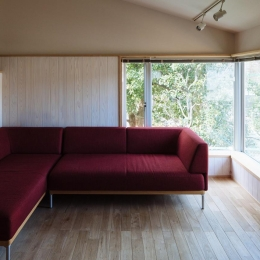 汐見坂の家 (リビング)