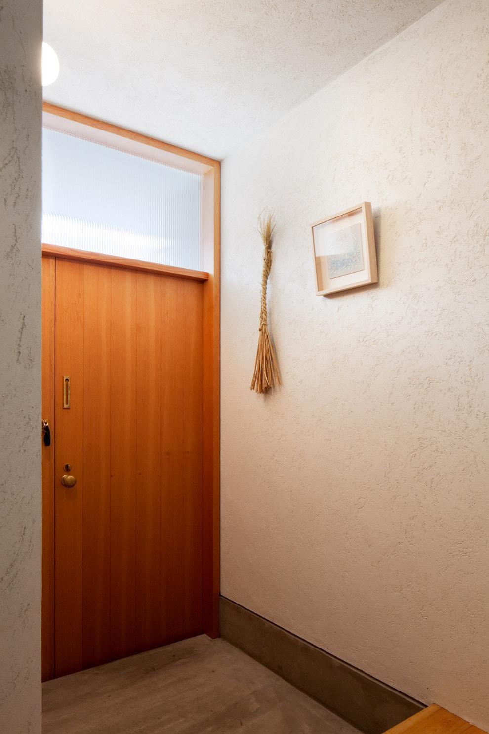 南沢の小住宅 (玄関)