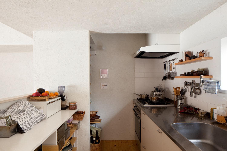 キッチン事例:キッチン(南沢の小住宅)