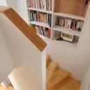南沢の小住宅の写真 階段収納