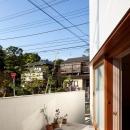南沢の小住宅の写真 テラス