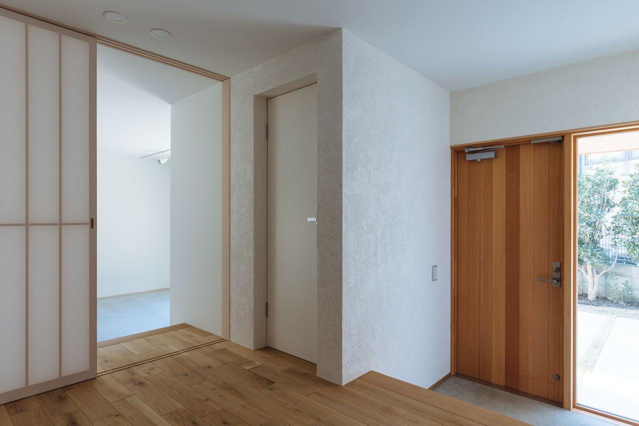 玄関事例:玄関(霧が丘の家)