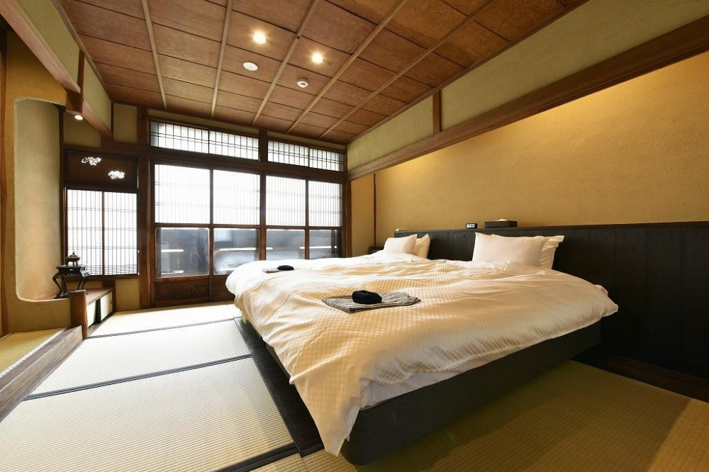 「藏や」千本三条 (町家旅館) (ベッドルーム)