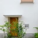 清瀬の小住宅の写真 玄関