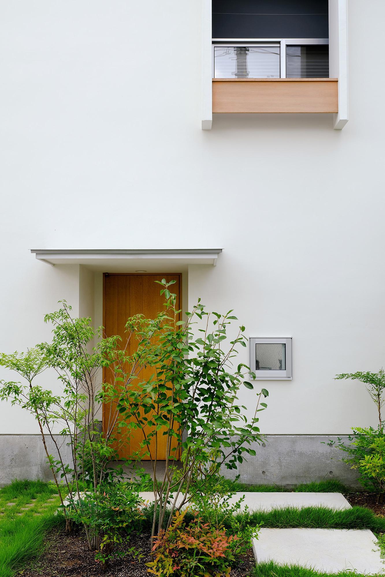 玄関事例:玄関(清瀬の小住宅)