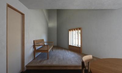 清瀬の小住宅 (リビング)