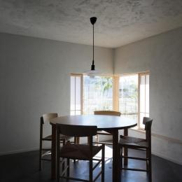清瀬の小住宅 (フルオープンの木製引き戸)