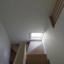 清瀬の小住宅の写真 階段
