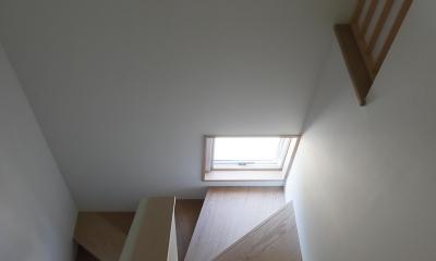 清瀬の小住宅 (階段)