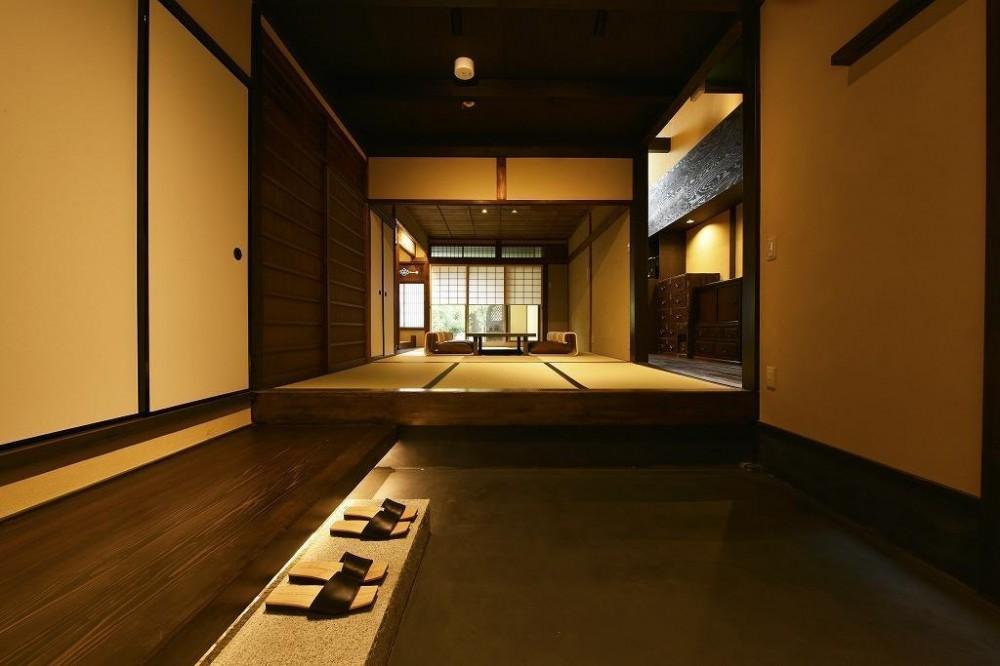 「藏や」千本三条 (町家旅館) (玄関)
