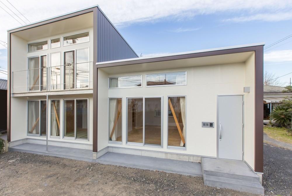 南外観 (3-BOX 1800万円の家)