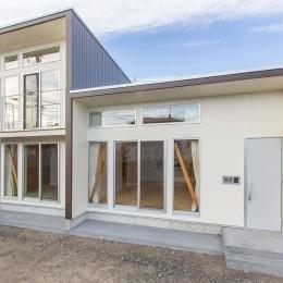 3-BOX 1800万円の家 (南外観)
