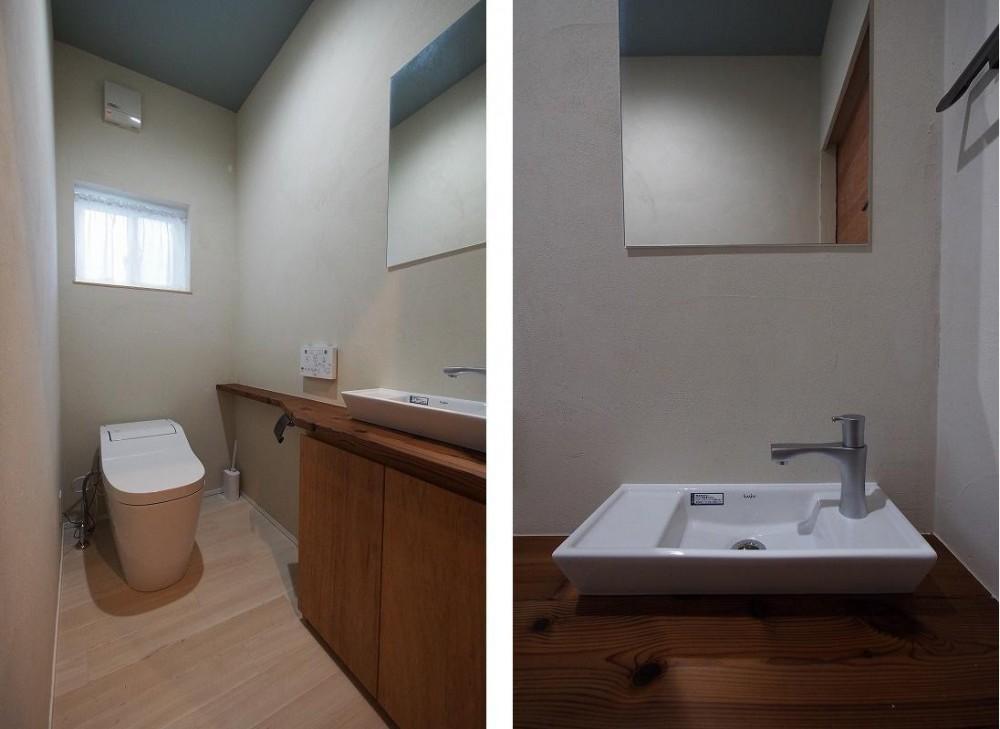 ビンテージを作るリノベーション (トイレ)