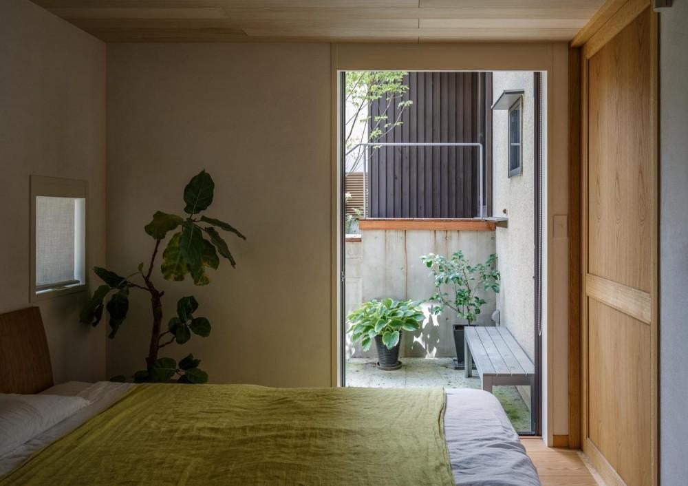 善福寺の家 (寝室)