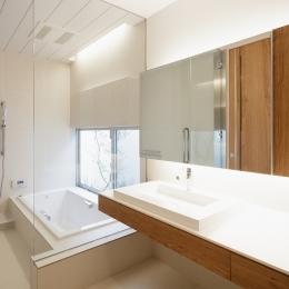 WHITE COURT HOUSE (浴室・洗面脱衣室)