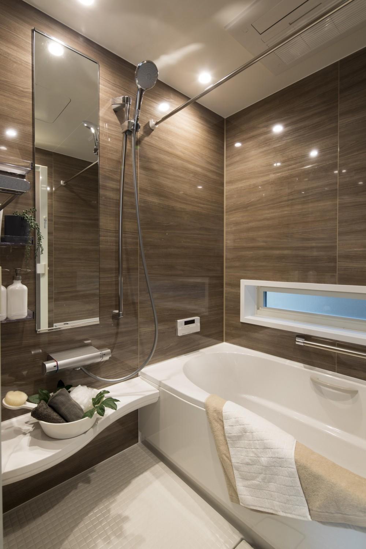 鏡面宅地 (浴室)