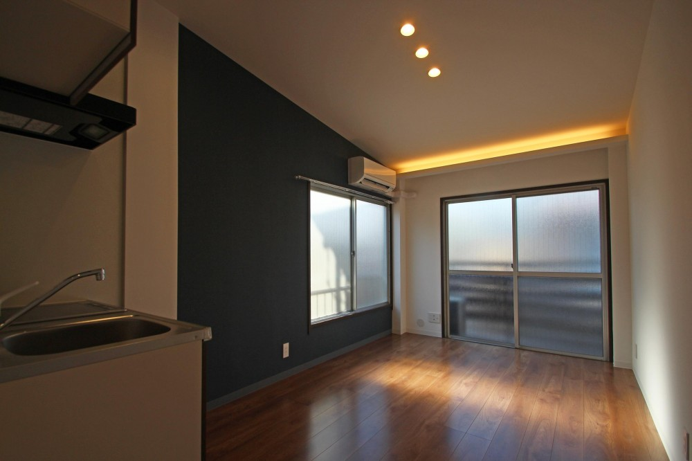 世田谷区集合住宅リノベーション (1ルームタイプ)
