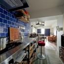 アンティーク家具が馴染む懐の深い家の写真 キッチン
