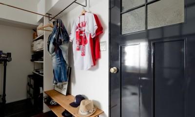 廊下|アンティーク家具が馴染む懐の深い家