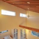 逗子の3代で受け継がれる2世帯住宅の家の写真 勾配天井