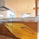 逗子の3代で受け継がれる2世帯住宅の家の写真 キッチン