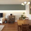 千葉県A邸【60年代のカフェにいるような居心地の良い空間】の写真 カフェのようなダイニング
