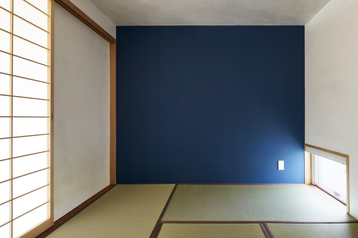 リビングダイニング事例:畳室(ひるいのいえ〜もとからそこにあったように〜)