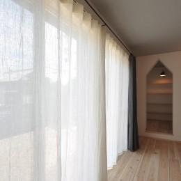コンバージョンK〜1階店舗2階住宅の中古住宅をフルリノベ!〜 (リビング)