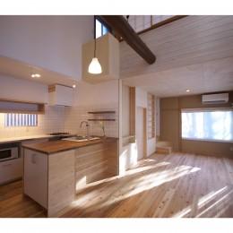 建築家 ティー設計室の住宅事例「ドッグランのあるセカンドハウス」