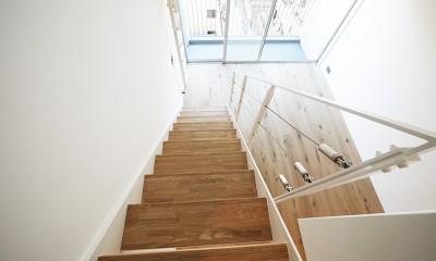 モダンなメゾネットタイプ (階段)