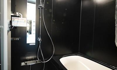 バスルーム|モダンなメゾネットタイプ