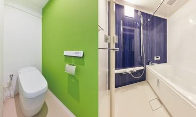 トイレ・浴室|引越し好きおとな女子がつくる自分仕様の飽きない家
