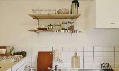 中古マンションと「私たちらしい、住まい。」 (キッチン)
