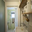 中古マンションと「私たちらしい、住まい。」の写真 洗面