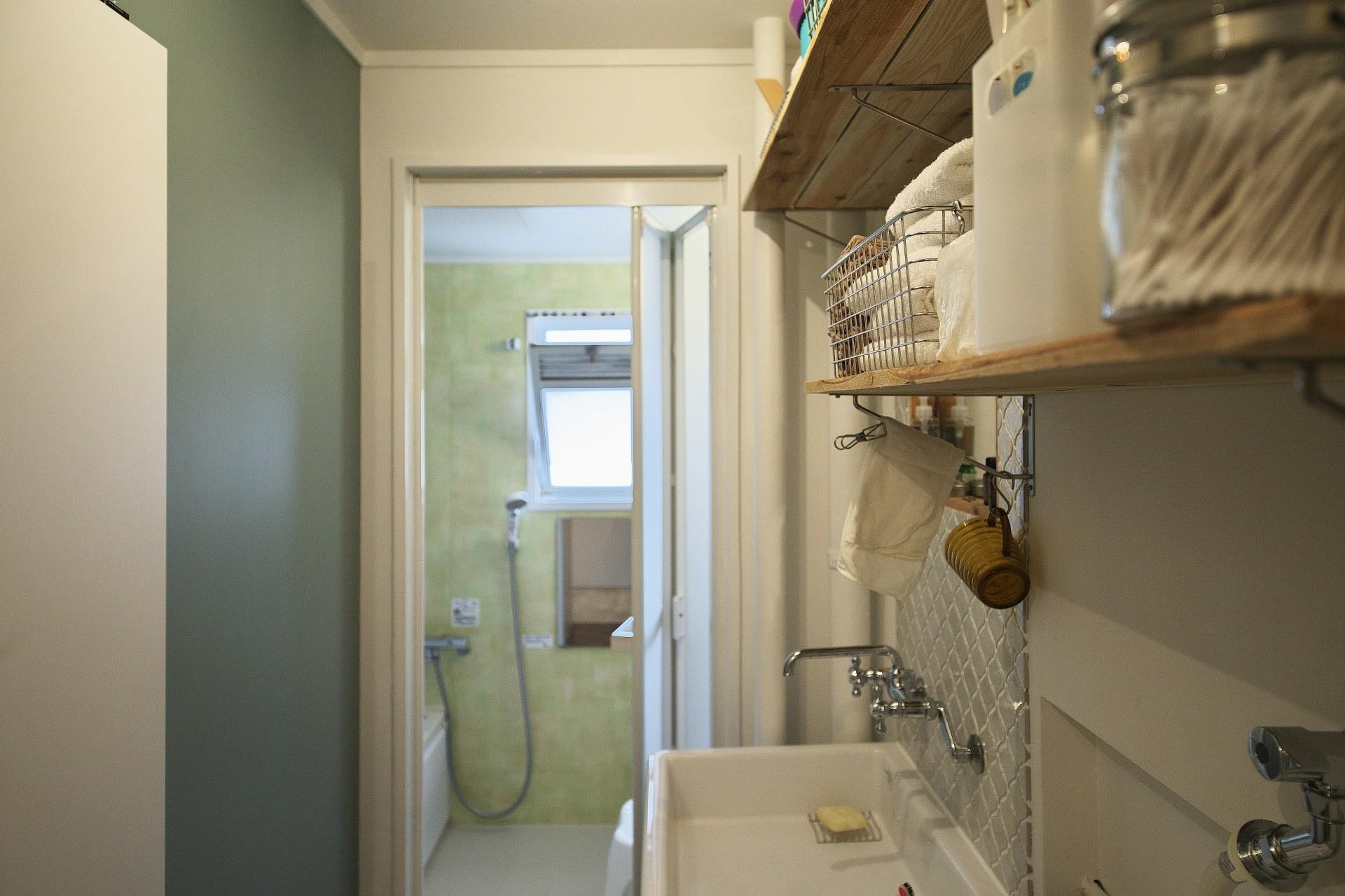 バス/トイレ事例:洗面(中古マンションと「私たちらしい、住まい。」)