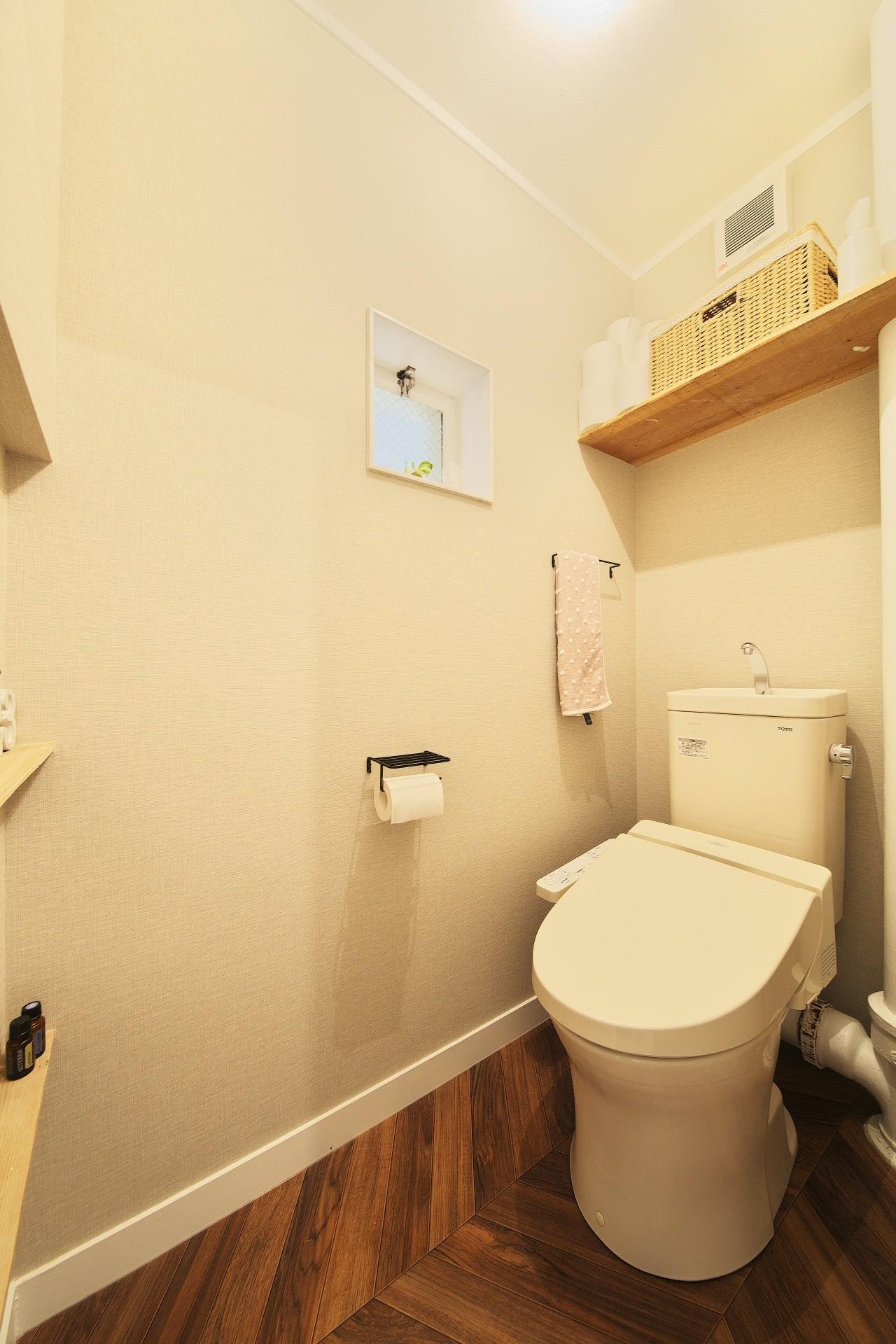 バス/トイレ事例:トイレ(中古マンションと「私たちらしい、住まい。」)