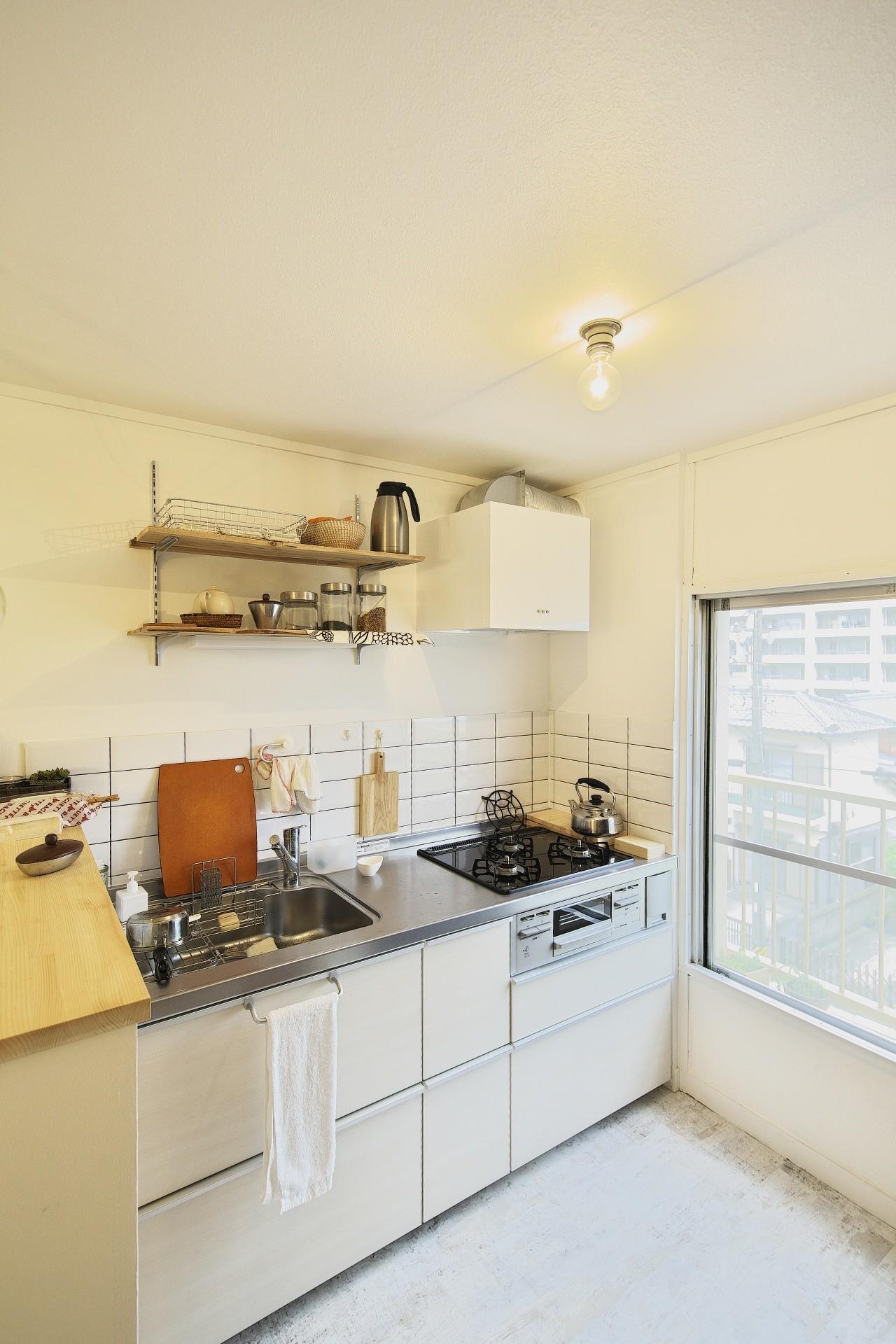 キッチン事例:キッチン(中古マンションと「私たちらしい、住まい。」)
