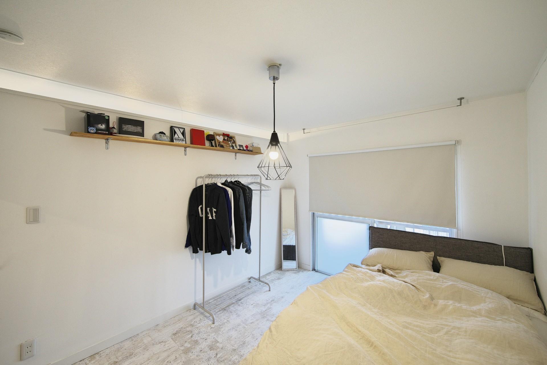 ベッドルーム事例:個室(中古マンションと「私たちらしい、住まい。」)