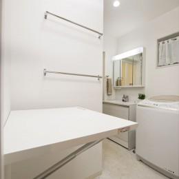 洗面室 (家も、気持ちも、若返ったみたい!『まるごと再生』で新築同様に)