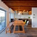 関町の家「around a table」の写真 LDK  ダイニングテーブル