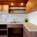 関町の家「around a table」の写真 キッチン